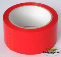 1-Rolle-Klebeband-leise-rot-50mm-x-66m